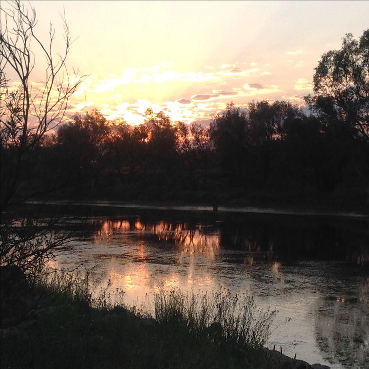Sunrise Galena Bridge, Murchison river  WA Australia  Michelle's pics