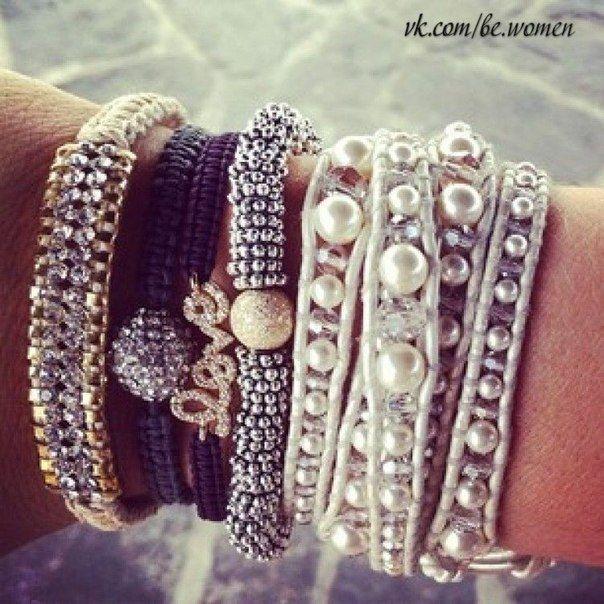 Массивные браслеты своими руками