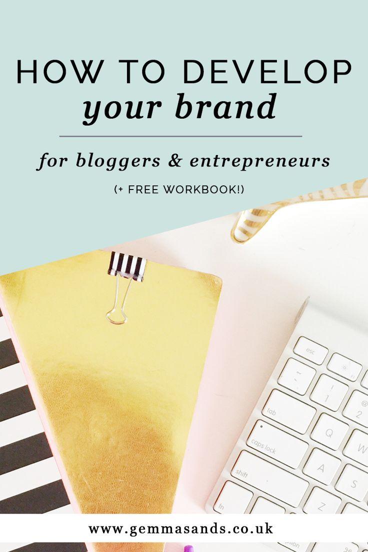 HOW TO DEVELOP YOUR BRAND + free workbook!) — Gemma Sands | Coaching + Branding