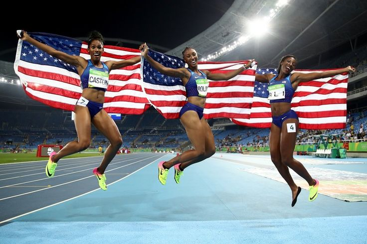 Brianna Rollins, Nia Ali, & Kristi Castlin Dominating The 100M Hurdles Was…