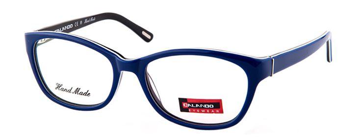 CALANDO 7063  Blue Black #CALANDOeyewear #eyewear #AW15 #designerframes