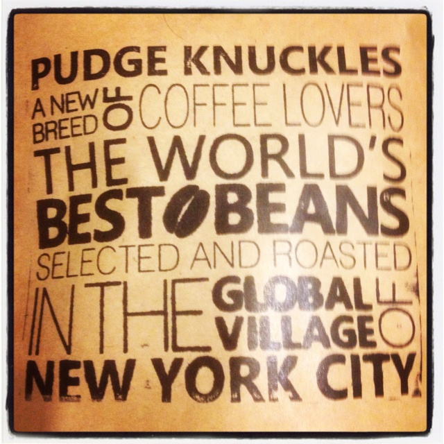 Pudge Knuckles coffee s'how I get my climbing day started. Made by a climber for climbers