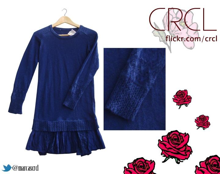 Sweater/Vestido Azul