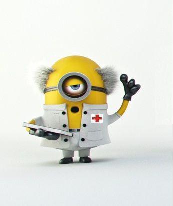 Dr Minion: I swear to fulfill, to the best of my ability and judgment...                                                                                                                                                                                 More
