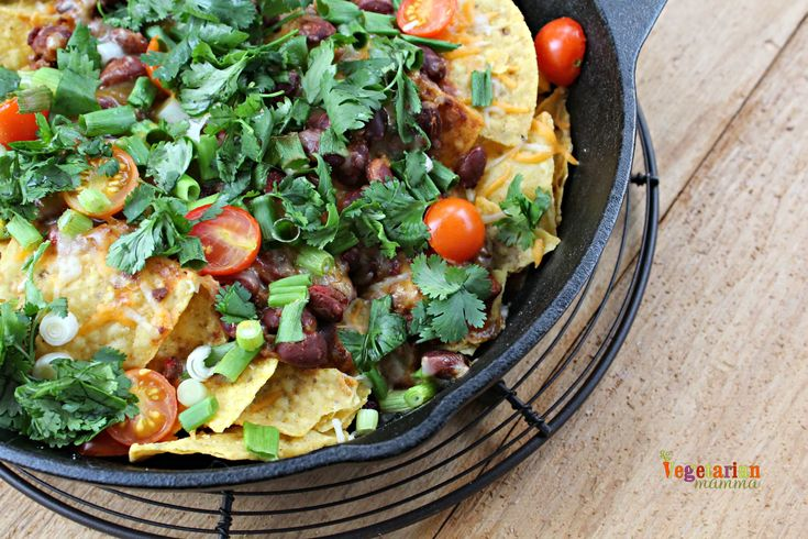 Football season is here, so let's bring on the party food! These oven baked nachos will please your football watching friends!