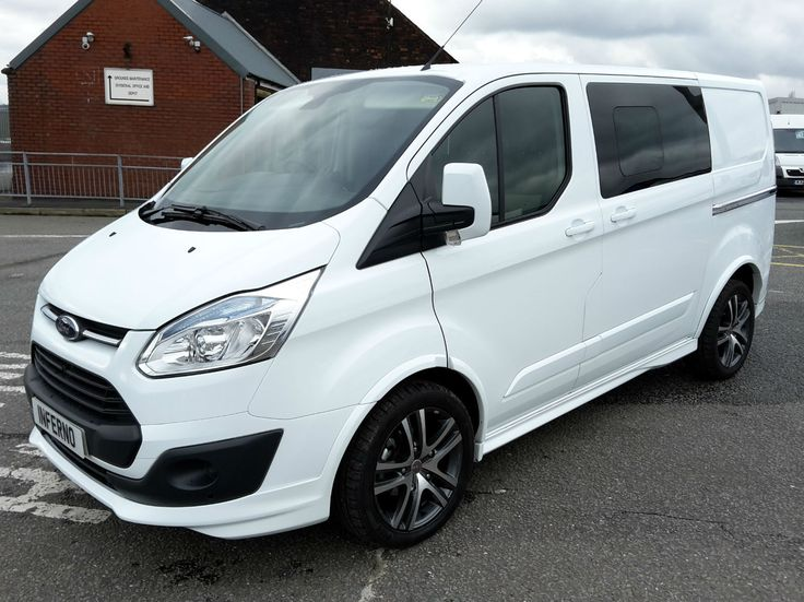 2018 Ford Transit Custom Limited 2.0TDCi ( 130PS ) Double Cab-in-Van | Ford transit, Ford and Vans