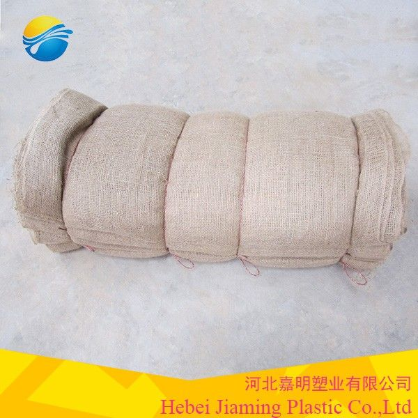 Manufacturer supply high quality Hessian fabrics Decorative fabric Jute fabric cloth