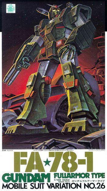 FA78-1 Gundam Full armor type