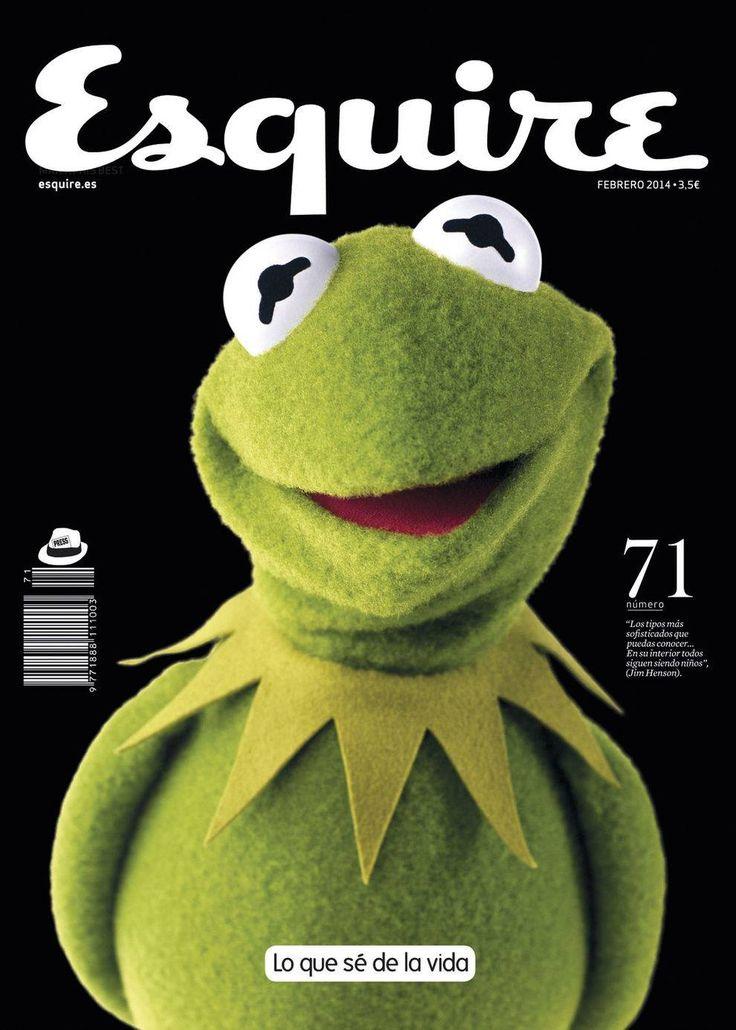 Esquire y la rana Gustavo