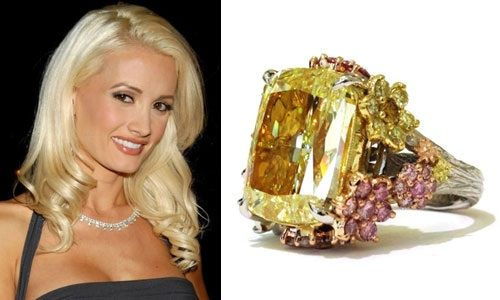 6 Enormous Celebrity Engagement Rings - YouTube