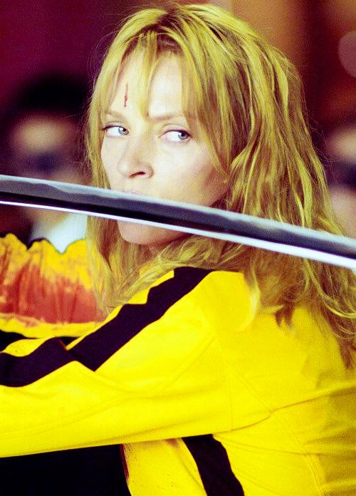 'Kill Bill' (2003) - Q. Tarantino Uma Thurman