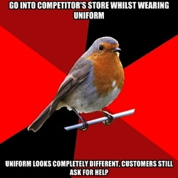 Retail Robin - Most popular images all time - page 1   Meme Generator