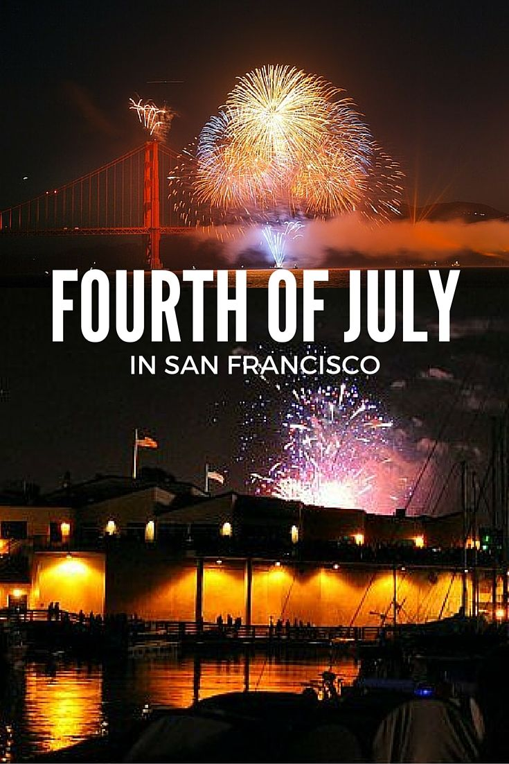 4th of july at pier 39