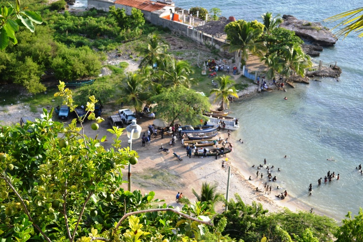 Jacmel, Haiti... Beautiful place! I love it there.