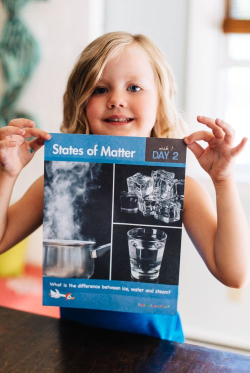How to teach about States of Matter with your Preschooler