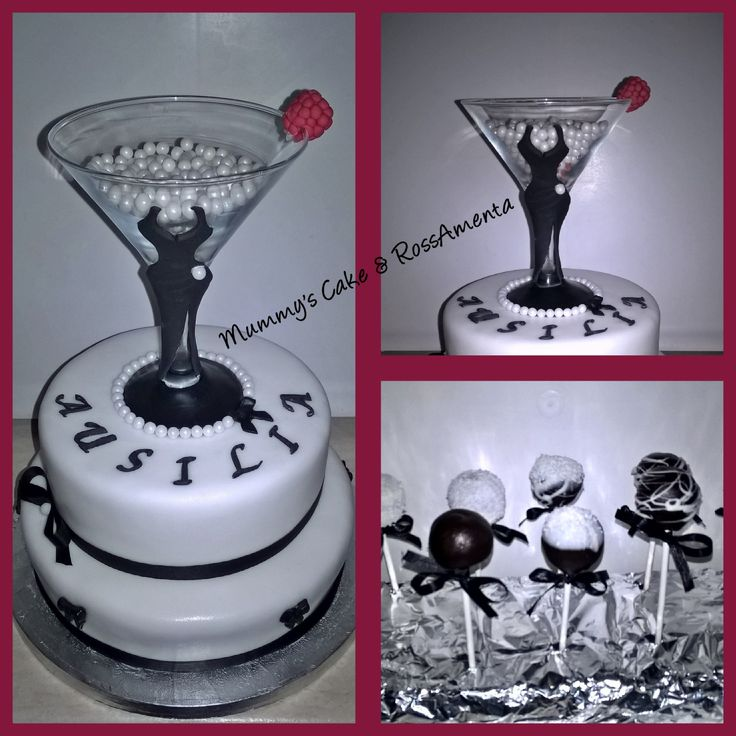 Lady Martini Cake e cake pop