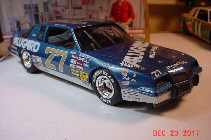 1986 Pontiac Grand Prix 2+2 27 Rusty Wallace Alugard Nascar 1:24 Monogram Built #Monogram