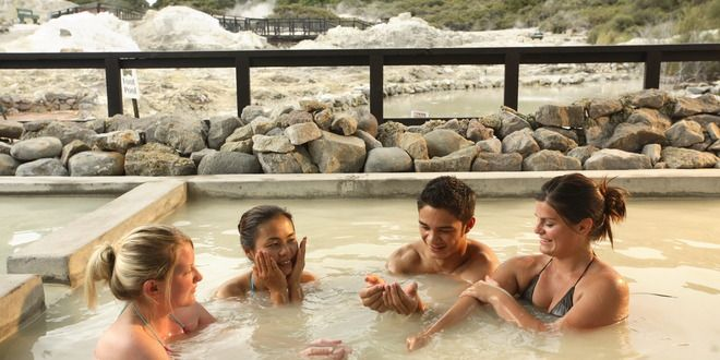 Geothermal Park, Mud Bath Spa & Traditional Maori Massage at Hells Gate - Backpacker Deals.