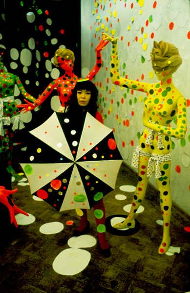 Yayoi Kusama - Art & Installation - Pop Art - dOts Panoptika: Alex And Felix