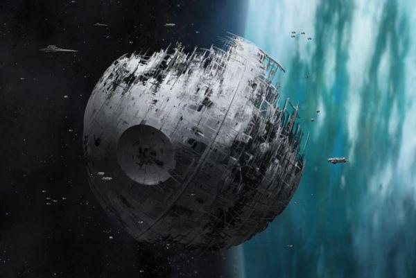 Planean construir una estrella de la muerte como la de Star Wars contra asteroides  Espacio asteroide ciencia espacio nasa star wars