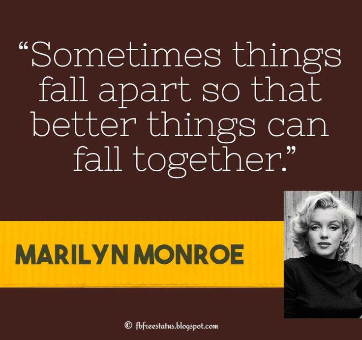 Marilyn Monroe Quotes Better Things Can Fall Together: 1000+ Monroe Quotes On Pinterest