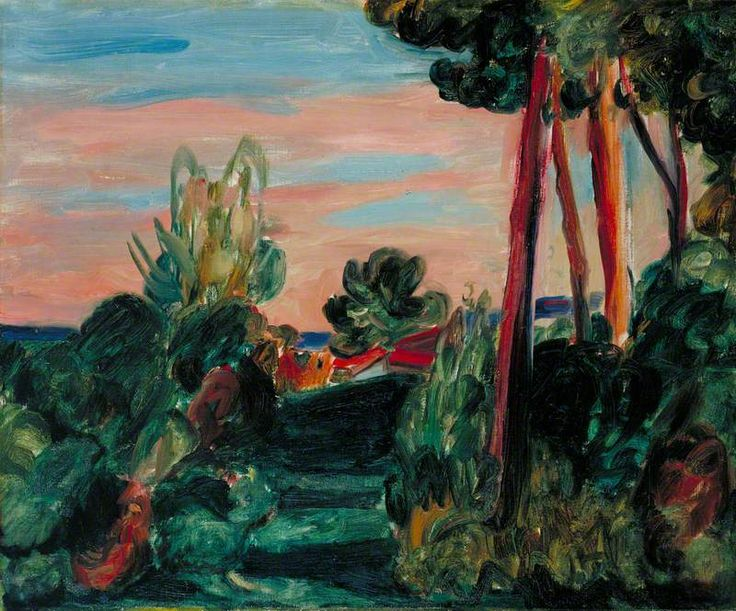Landscape near Antibes