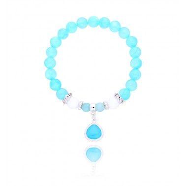 HOT Color: Ocean blue #ocean #blue #trendy #love #holidays #mood #summer #trend #bijoux #bydziubeka