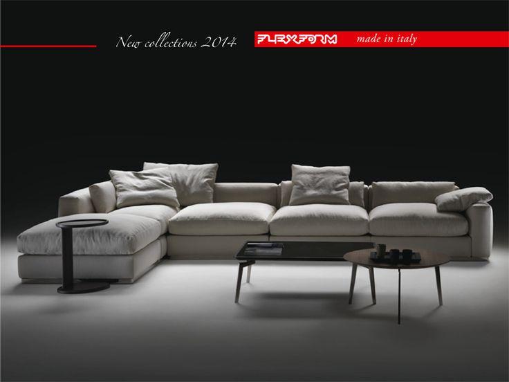 Sofa Mart Salone Exclusive preview FLEXFORM BEAUTY a soft sofa Designed by Antonio Citterio