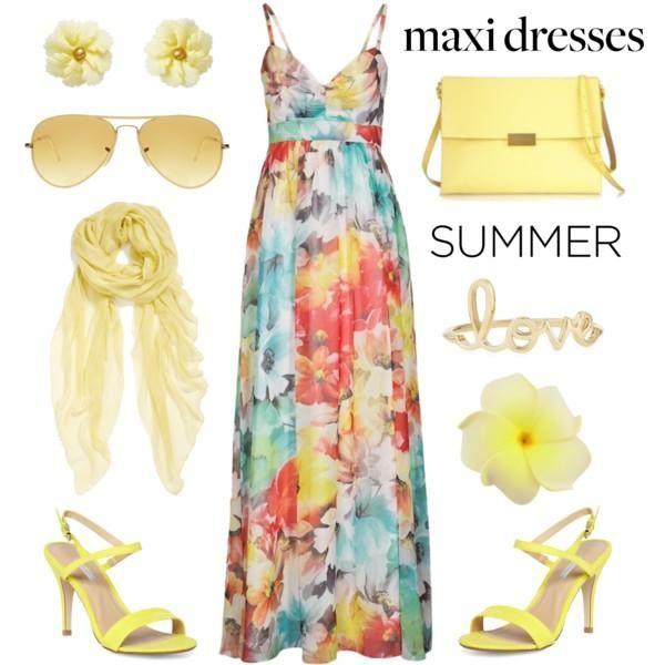 maxi summer dress  Maxi summer dresses for  girls http://www.justtrendygirls.com/maxi-summer-dresses-for-girls/