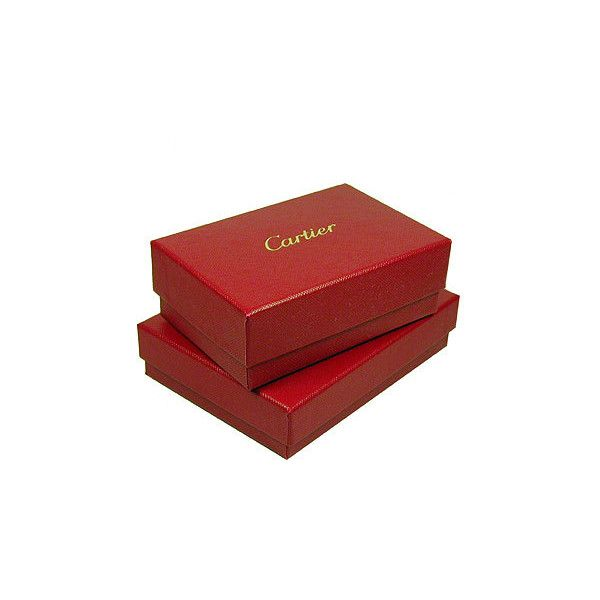 cartier box liked on polyvore featuring home home decor accessories gift - Red Home Decor Accessories