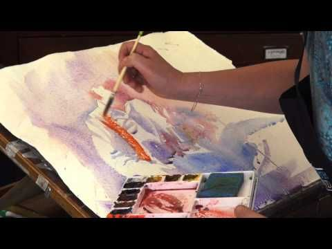 ▶ How to Paint Watercolour Portraits with New Zealand Artist Jacky Pearson - YouTube