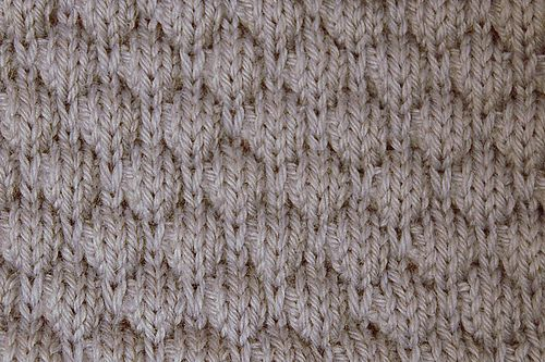 Honeycomb Knitting Stitch