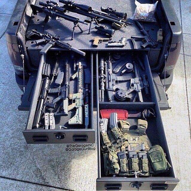 Truck Vault Shopping List Tactical Truck Weapon
