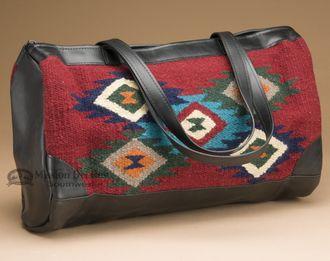 Wool Southwestern Tapestry Tote Bag (p480)