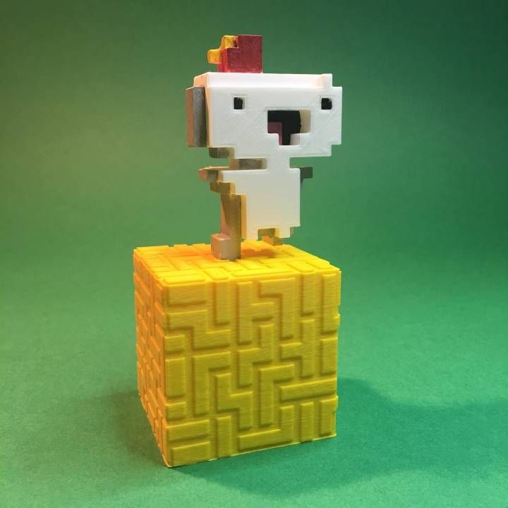 Download 3D Printed FEZ - Gomez Figure  by fotis mint