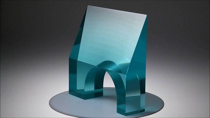 Glass Sculpture CRYSTAL GATE Jiri Karel