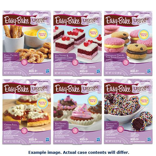 Easy Bake Oven Refills Wave 1 - Hasbro - Easy-Bake Oven - Roleplay at Entertainment Earth