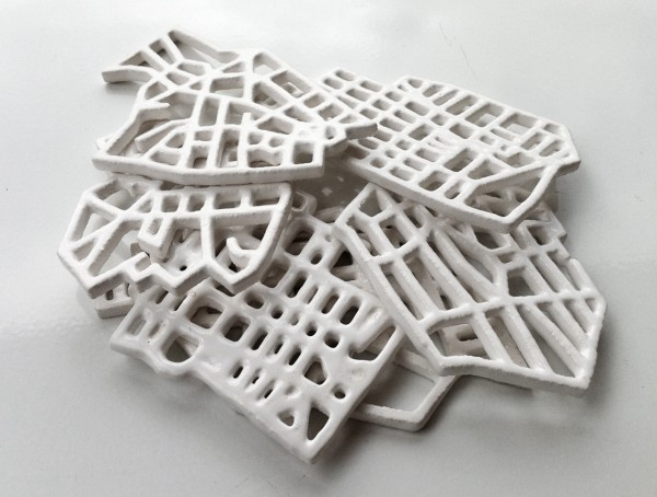 Ceramic city grids