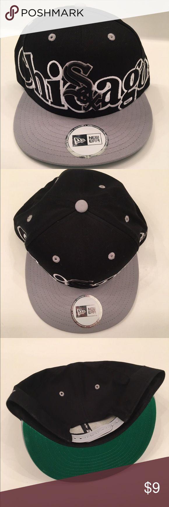 Chicago White Sox New Era SnapBack New Era Hat - One Size Fits All - Adjustable SnapBack (brand new) New Era Accessories Hats