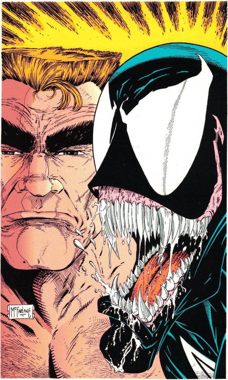 Eddie Brock/Venom by Todd McFarlane