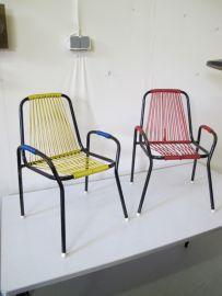 vintage jaren 60 fauteuiltjes