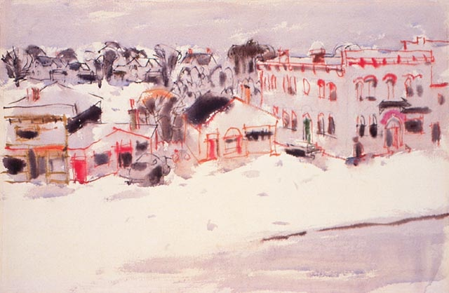 David Milne: Snow from the North II - Canadian Paintings in the Thirties