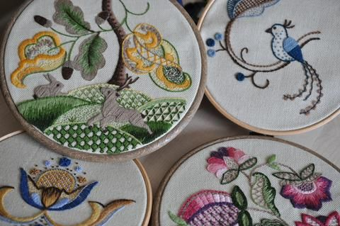 Embroidery Kits now available! – The Bluebird Embroidery Company
