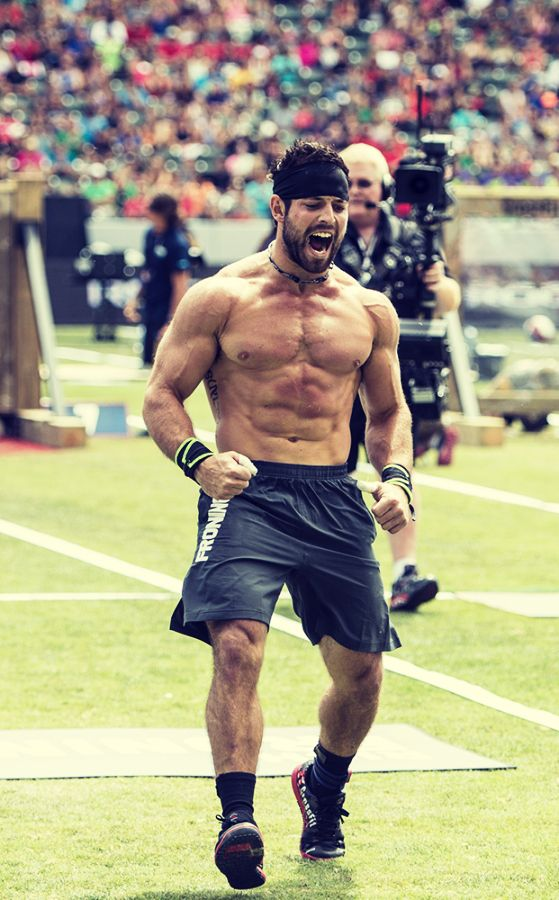 Rich Froning. Three times CrossFit Games Champion. Photographer: CrossFit