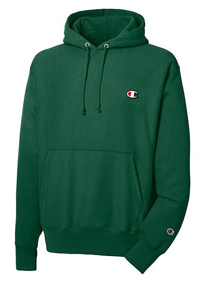 Champion Hoodie (hunter green)- size: M or L