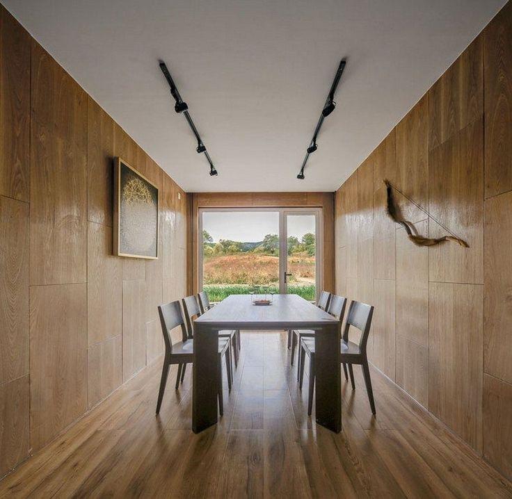 les 25 meilleures id es de la cat gorie parement bois sur pinterest parement parement mural. Black Bedroom Furniture Sets. Home Design Ideas