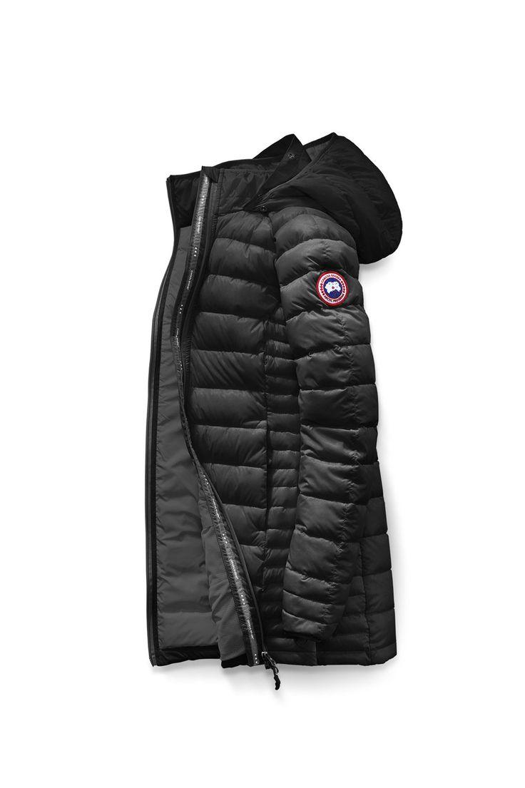 https://www.dunjackadam.com/  4200 : Canada Goose Brookvale Hooded Coat Svart/GrafithWpezsgSe