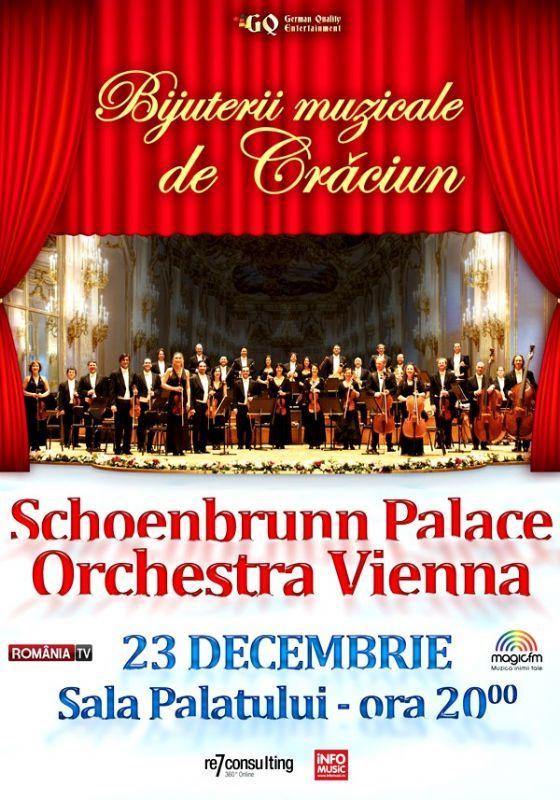 Schoenbrunn Palace Orchestra Vienna - Bijuterii muzicale de Craciun 23 Dec 2016