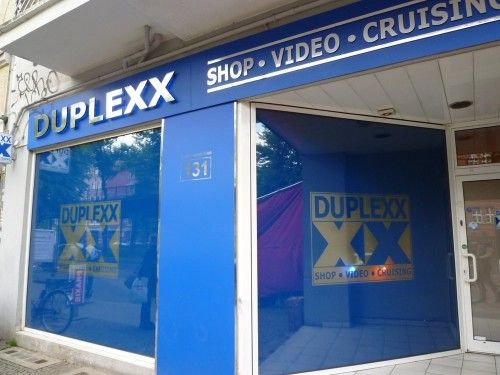 DUPLEXX-BERLIN PRENZLAUER BERG - Sex cinema with cruising area and shop. Open daily from 12.00 - 03.00 open clock. Glory Holes Sling Dark Room