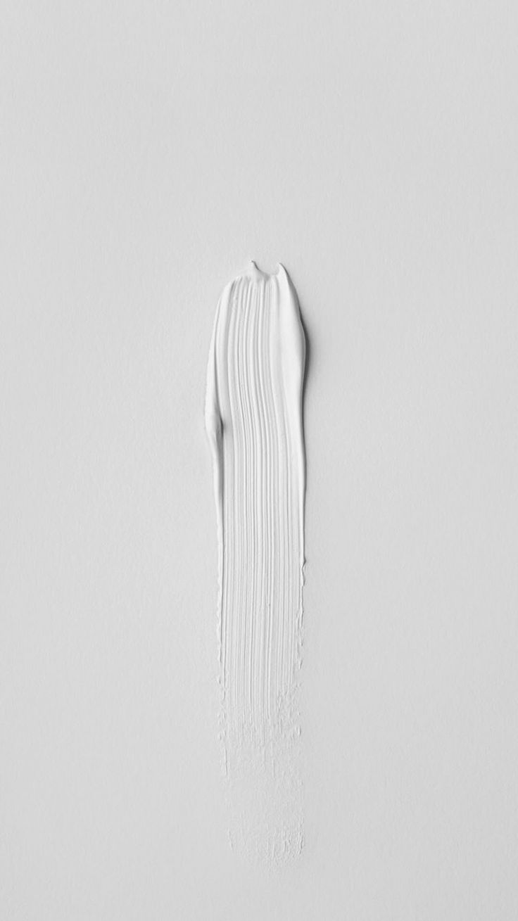 iPhone Art Paint Minimalistic White - Wallpaper